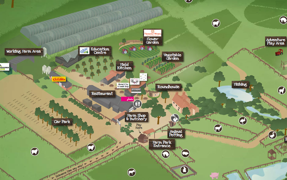 Jimmys Farm Map 2016