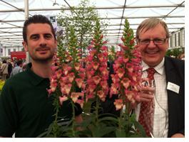 Michael Perry & Paul Hansord with Plant of the Year 2012