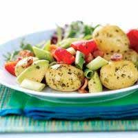 Warm Potato, Bacon and Pepper Salad