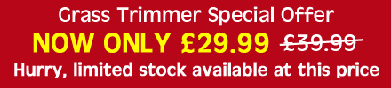 Grass Trimmer Special Offer