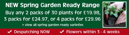 NEW Spring Garden Ready Range