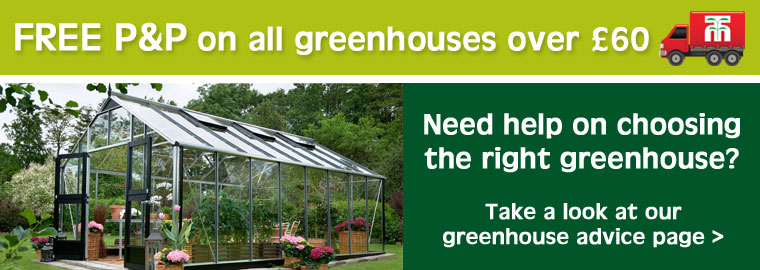 Choose the perfect greenhouse for your garden