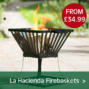 La Hacienda Firebaskets from just £29.99