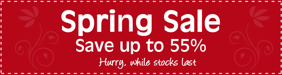 Spring Sale Now On