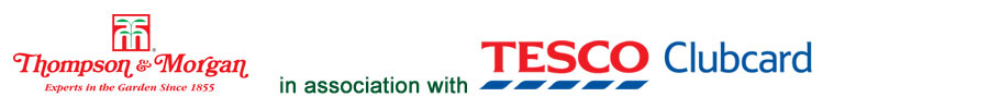 Thompson & Morgan in assocation with Tesco Clubcard