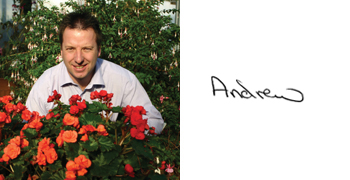 Andrew Tokely, Head of Horticulture, Thompson & Morgan
