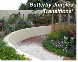 Hampton Court Palace Flower Show 2012 - Butterfly Jungles Transtitions